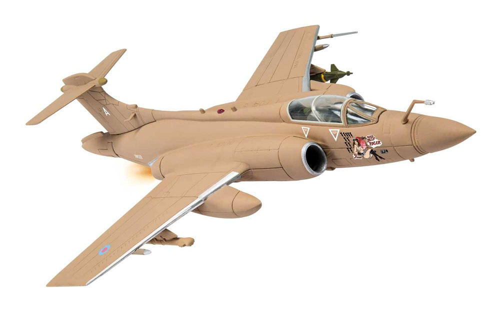 Corgi Aviation Archive AA34112 1/72 Blackburn Buccaneer XW533/A Miss Jolly Roger RAF No237 OCU Gulf War 25th Anniversary
