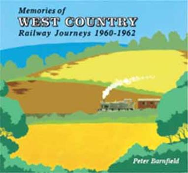 "Memories Of West Country Railway Journeys 1960-1962 by Peter Barnfield. Wild Swan PublishingRailway journeys on ex GWR lines in the West Country, recalled from notes made at the time and profusely illustrated with the author's own photographs, taken on the journeys described but also on other dates too. Having said this is all ex GW, the book includes a particularly delightful journey from Evercreech to Burnham on Sea which takes us all the way from page 48 to page 73.Unlike Peter's earlier ""Withered Arm"" book covering the former Southern route to Plymouth and with which this volume is physically uniform, this book includes a number of views of diesels and multiple units, which had started to operate over Western lines by the time of these journeys.Author & photographer Peter Barnfield. 120 pages, softback, 2017"