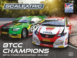 Scalextric 1/32 British Touring Car Champions 2014 & 2015 C3694ABritish Touring Car Champions 2014 & 2015 C3694A