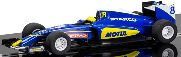 F1 2015 Season Generic Car 2 C3704A rugged formula racer ideal for the junior racer.Scalextric Special FeaturesDigital Plug ReadyEasy Change Pick-upsMagnatractionSuper Resistant