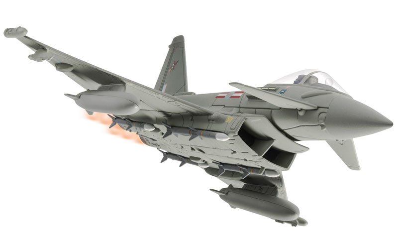 Corgi 1/72 Eurofighter Typhoon FGR.4, ZJ950/C Charity RAF No.29 Squadron, Falklands Defence AA36408<br>