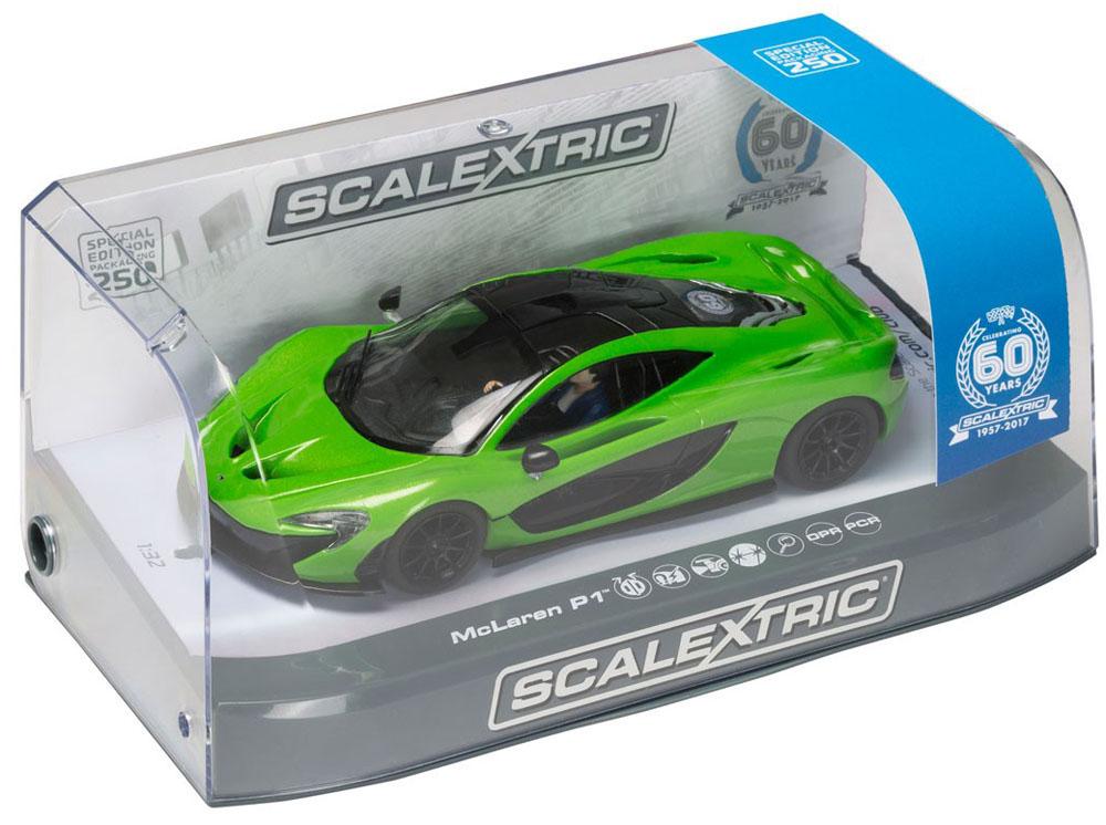 Scalextric 1 32 Mclaren P1 Green 60th Anniversary Ltd Edition Slot