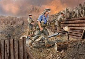 Revell 1/35 Anzac Infantry (1915) 02618Number of Figures: 4     Number of Parts: 122