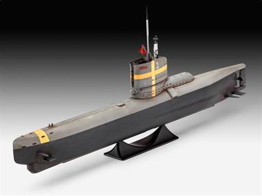 Revell German Submarine Type XXII 05140Length 242mm  Number of parts 23Glue and paints are required