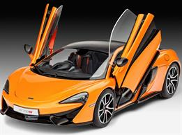Revell 1/24 McLaren 570S KitLength 190 mm Number of Parts 106