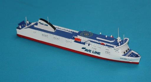 Rhenania RJ260AVE Baltic Amber Ferry Model 1/1250