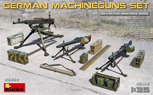 Mini Art 35250 1/35 Scale German Machine Gun Set