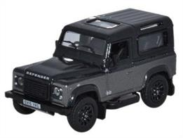 Oxford Diecast 1/76 Land Rover Defender 90 Station Wagon Corris Grey (Autobiography) 76LRDF009AULand Rover Defender 90 Station Wagon Corris Grey (Autobiography)