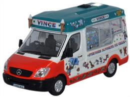 Oxford Diecast 1/76 Whitby Mondial Ice Cream Vinces 76WM005Whitby Mondial Ice Cream Vinces