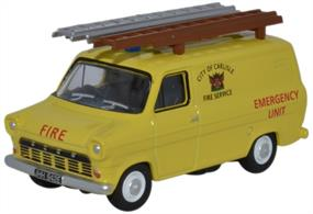 Oxford Diecast 1/76 Ford Transit Mk1 City of Carlisle Fire Service 76FT1004Ford Transit Mk1 City of Carlisle Fire Service