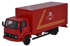 Oxford Diecast 1/76 Ford Cargo Box Van Royal Mail 76FCG004Ford Cargo Box Van Royal Mail