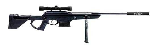 Black Ops Sniper .22 Air Rifle with 4 x 32 Scope  BOSNIPER22