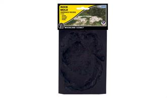 Use this mold to make rocks for wind-eroded areas, such as deserts, sea shores, beaches and more. Mold is flexible and reusable.Mold measures 5 in x 7 in (12.7 cm x 17.7 cm)