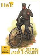 HAT 8276 1/72 Scale WW1 German Jaegar Bicyclists