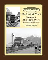 Lightmoor Press British Railways The First 25 Years Volume 4 The South West Somerset & Devon br25yrsvol4British Railways The First 25 Years Volume 4: The South West Somerset & Devon J. Allan and A. MurrayThe fourth volume in the British Railways First 25 Years series, this volume explores the main lines and branches in the South West of England. From Taunton on the Western and Seaton Junction on the Southern westwards through Somerset into Devon and then along the Exeter to Plymouth main lines, together with the South devon branches of the Western region. (Plymouth and the Southerns' North Devon lines will be included with Volume 5.)The atmospheric photographs cover steam, diesel and electric traction, express, freight and humble shunting engines. Everything from 'Kings' and 'Castles' to 'Battle of Britain' and 'West Country' classes, as well as their early diesel replacements, including the Western Region's short-lived Hydraulics. There are oddities too including the Southern's Exeter banking engines. There is a mix of action and depot pictures, as well as plenty of unusual and 'quirky' shots, backed up by extensive and informative captions.208 pages. 275x215mm. Printed on gloss art paper, casebound with printed board covers.