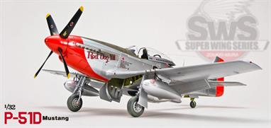 Zoukei-mura SWS04 1/32 Scale North American P-51D Mustang P-51D Aircraft