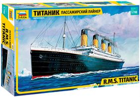 Zvezda 1/700 R.M.S. Titanic Kit 9059Glue and paints are required