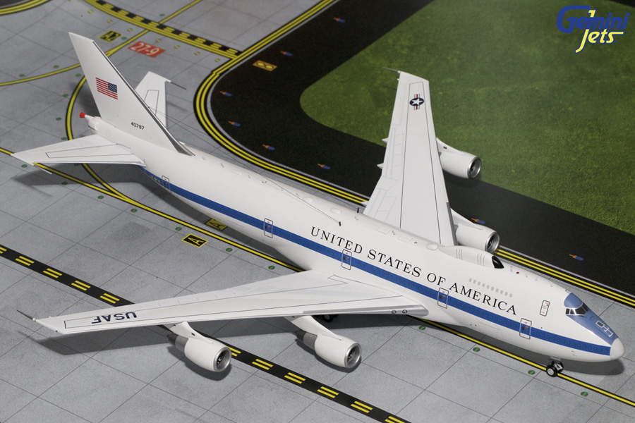 Gemini Jets 1/200 USAF Boeing E-4B Flying White House 40787 G2AFO592