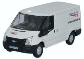 Oxford Diecast 1/76 Ford Transit SWB Low Roof Network Rail 76FT023