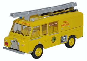 Oxford Diecast 1/76 Land Rover FT6 Civil Defence 76LRC006