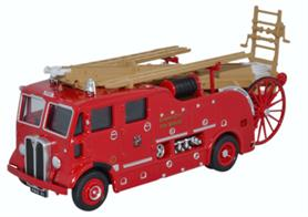 Oxford Diecast 1/76 AEC Regent Pump Escape Cardiff City Fire Service 76REG007