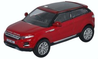 Oxford Diecast 1/76 Range Rover Evoque Firenze Red 76RR005
