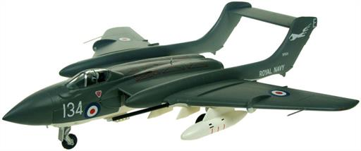 Aviation AV7253003 De Havilland Sea Vixen FAW2 XP924 Royal Navy Historic Flight Model 1/72