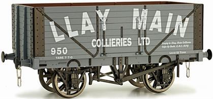Dapol O Llay Main 8 Plank Open Wagon 954 RTR 7F-080-020Dapol O gauge 7F-080-020 8 plank open wagon Llay Main 954A detailed model of an 8 plank open coal wagon in the livery of the Llay Main Colliery.Dapol are producing two wagons, 952 and 954, from the large fleet operated by the Llay Main Colliery, adding to the previously released wagon 950, allowing a small block of wagons to be built without duplicating numbers.A weathered version is also being produced, 7F-080-020W at the same price. The weathered agons can be obtained on request.Photo of wagon 950 Shown.