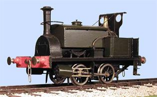 Slaters Plasticard O Manning Wardle Class F 0-4-0ST Loco kit 7L017Please note - Motor and Gearbox REQUIRED.