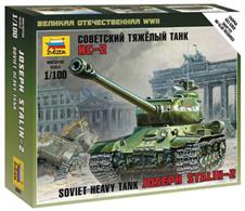 Zvezda 6201 1/100 Scale Soviet Heavy Tank IS-2 Stalin