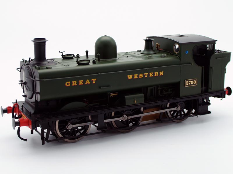 Dapol GWR 5700 57xx Class 0-6-0PT Pannier Tank GWR Green Lettered Great Western Model O Gauge 7S-007-002