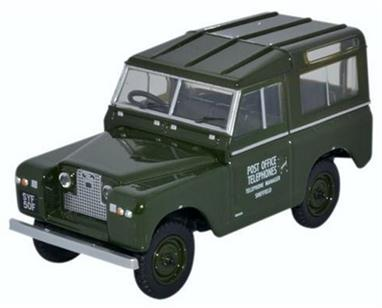 Oxford Diecast 1/43 Land Rover Series II SWB Hard Back Post Office Telephones 43LR2S003