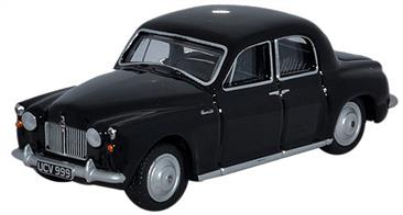 Oxford Diecast 1/76 Rover P4 Black (Cornwall Constabulary) 76P4003Rover P4 Black (Cornwall Constabulary)