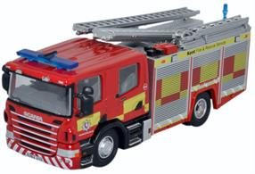 Oxford Diecast 1/76 Scania CP28 Pump Ladder Kent Fire & Rescue Service 76SFE009
