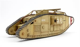 Meng Models TS-020 1/35 Scale World War 1 Mk5 Female British Heavy TankGlue and paints are required to assemble and complete the model (not included)