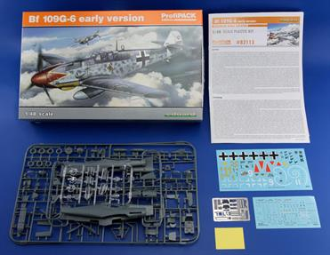 Scale kit of Bf 109G-5 in 48th scale in ProfiPACK edition.  First release of plastic parts from 2016 tool.plastic parts: EduardNo. of decal options: 5Decals: EduardPE parts: yes, colorpainting mask: yes