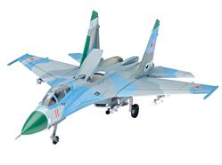 Revell 03948 1/144 Scale Suchoi Su-27 FlankerA model construction kit of the Su-27 Flanker. It is acknowledged as one of the best combat aircraft in the world. - Fuselage with recessed panel joints - Undercarriage - Pylons with guided weapons