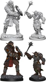 Wizkids Bugbears: D&D Nolzur's Marvelous Unpainted Miniatures 72562Contains two unpainted figures (one each of two different moulds).