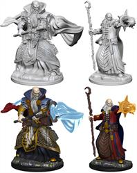 Wizkids Human Male Wizard: D&D Nolzur's Marvelous Unpainted Miniatures 72618Contains two unpainted figures (one each of two different moulds).