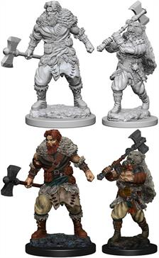 Wizkids Human Male Barbarian: D&D Nolzur's Marvelous Unpainted Miniatures 72643Contains two unpainted figures (one each of two different moulds).