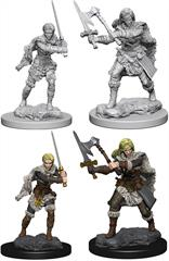 Wizkids Human Female Barbarian: D&D Nolzur's Marvelous Unpainted Miniatures 72644Contains two unpainted figures (one each of two different moulds).