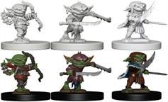 Wizkids Goblins: Pathfinder Deep Cuts Unpainted Miniatures 72579Contains three unpainted figures (one each of three different moulds).
