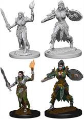 Wizkids Elf Female Fighter: Pathfinder Deep Cuts Unpainted Miniatures 72599Contains two unpainted figures (one each of two different moulds).