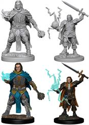 Wizkids Human Male Cleric: Pathfinder Deep Cuts Unpainted Miniatures 72600Contains two unpainted figures (one each of two different moulds).