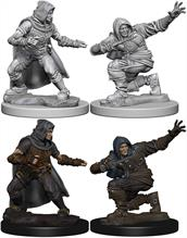 Wizkids Human Male Rogue: Pathfinder Deep Cuts Unpainted Miniatures 72602Contains two unpainted figures (one each of two different moulds).