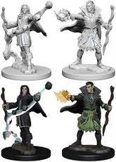Wizkids Elf Male Sorcerer: Pathfinder Deep Cuts Unpainted Miniatures 72605Contains two unpainted figures (one each of two different moulds).