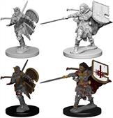 Wizkids Human Female Paladin: Pathfinder Deep Cuts Unpainted Miniatures 72607Contains two unpainted figures (one each of two different moulds).