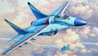 Revell 1/144 MiG-29S Fulcrum 03936Length Number of Parts WingspanGlue and paints are required