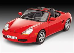 Revell 1/24 Porsche Boxster Model Set 67690Length 181mm Number of Parts 27Comes complete with glue and paints.