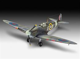 Revell 1/72 Spitfire Mk.lIa Gift Set 63953length 127mm		Number of Parts 38		Wingspan 155mmComes with glue and paints to assemble and complete the model.